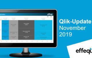 Ein Bildschirm der das Qlik-Update November 2019 zeigt