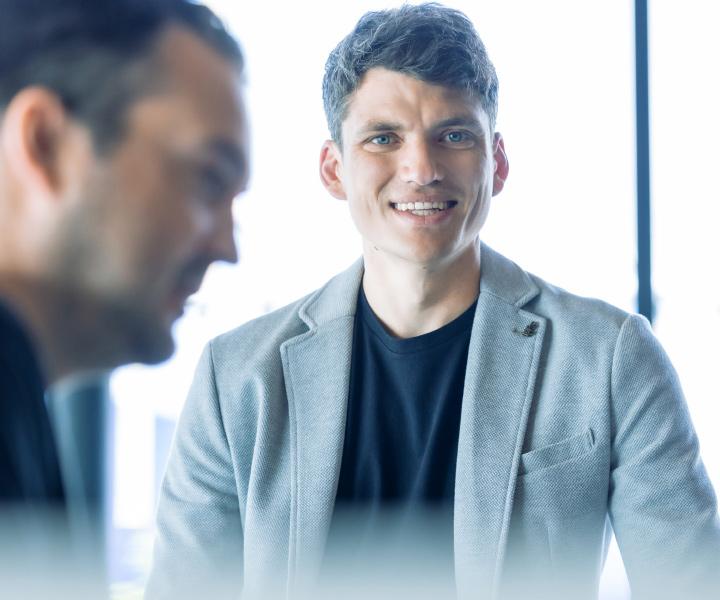 Sales Manager Michael Merkt von effeqt